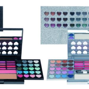 Trousse make-up glitter