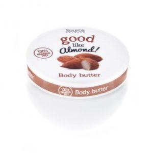 Body butter – fragrance almond – 250 ml – paraben free