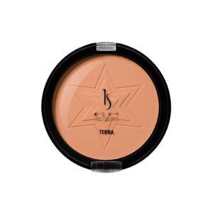 Compact bronzer amber