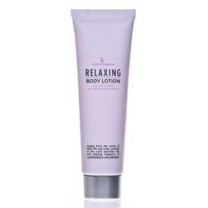 Body Lotion – linea relaxing – oli essenziali fragranza lavanda e valeriana 150 ml