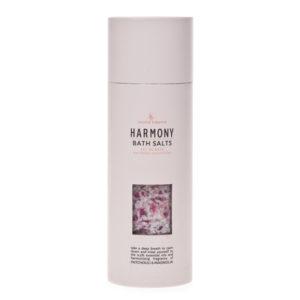Cristalli di sale da bagno – 250 gr – armonia – Oli essenziali di patchouli e magnolia