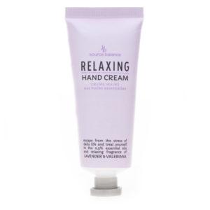 Hand cream Relaxing – essential oils fragrance Lavender e Valeriana –