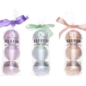 Bombe da bagno effervescenti 3 x 20 gr – 3 fragranze