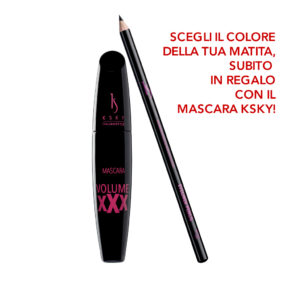 Mascara Volume XXX + Eyeliner Pencil