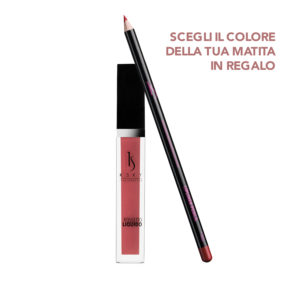 Rossetto Liquido Indian Rose + Matita labbra