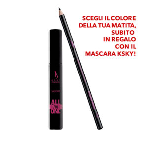Mascara All in One + Matita occhi